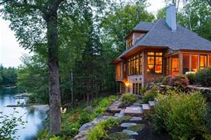 Vacation Cottage Plans embracing living on the lake new hampshire home july