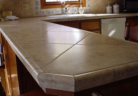 Ideas For Kitchen Countertops | kitchen designs exciting tile kitchen countertops ideas
