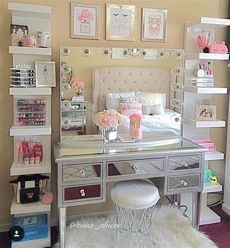 Makeup Room Decor Best 25 Room Storage Ideas On Pinterest Room Organization Tween Bedroom Ideas And