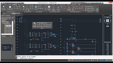 tutorial autocad 2016 sticky panels autocad electrical 2016 tutorial 3 youtube