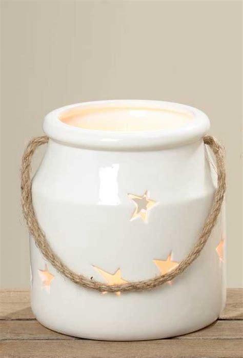 Keramik Kerzenhalter by Keramik Windlicht Mit Kordel Teelichthalter