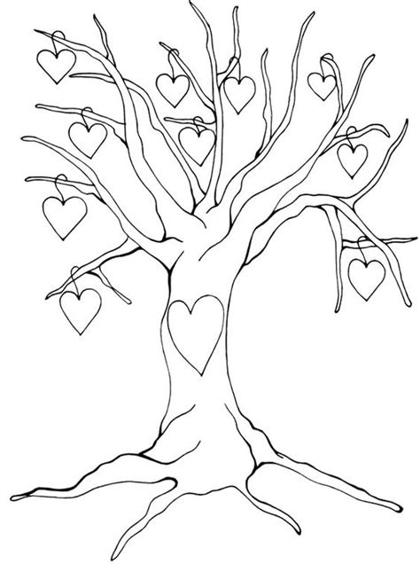 tree without leaves coloring page pinterest the world s catalog of ideas