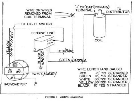 cool stewart warner tachometer wiring diagram pictures
