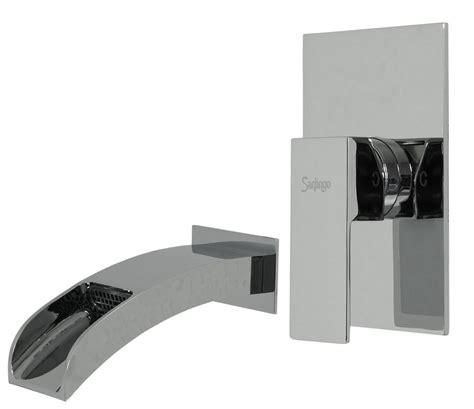 chrome set baignoire encastre robinet mitigeur montage box