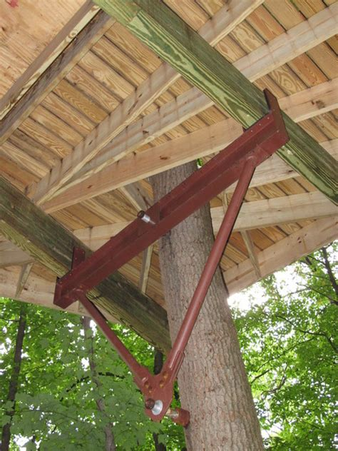 tree house design and construction hardware based largely on zipline technology has revolutionized treehouse design and
