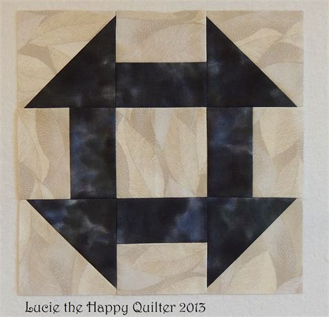 quilt pattern monkey wrench double monkey wrench block lucie the happy quilter s blog