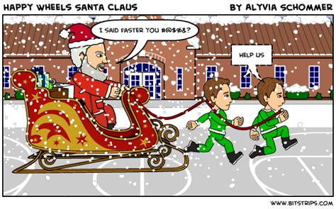 happy wheels full version santa happy wheels santa claus bitstrips