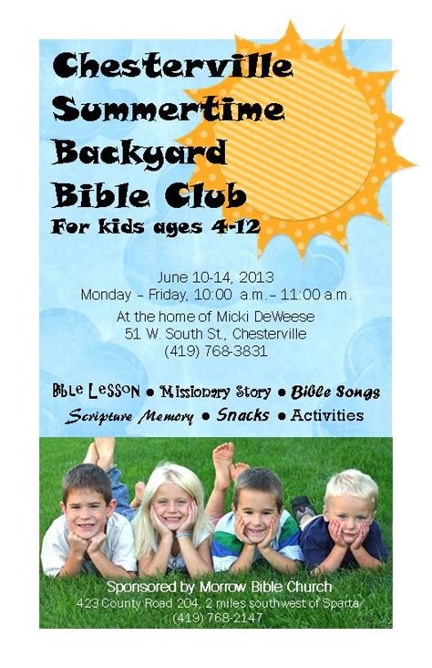 Backyard Bible Club Ideas 1000 Images About Backyard Bible Club On 28 Images Backyard Bible Club Curriculum 1000