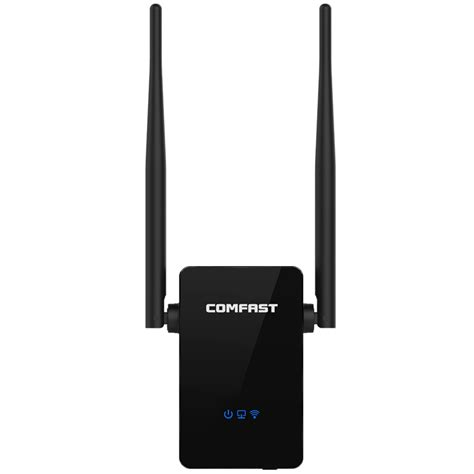 Antena Repeater Wifi comfast wifi repeater router 300m dual 5dbi antenna signal booster wireless n wi fi repeater 802