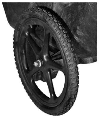 rubbermaid   pneumatic replacement wheelbarrow