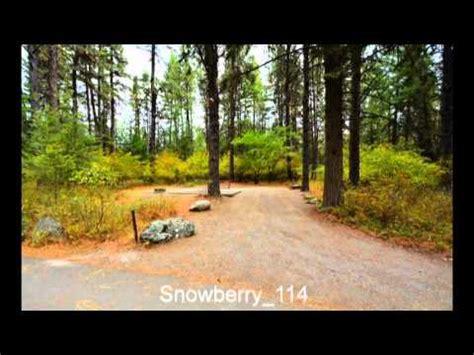 snowberry cground farragut state park idaho