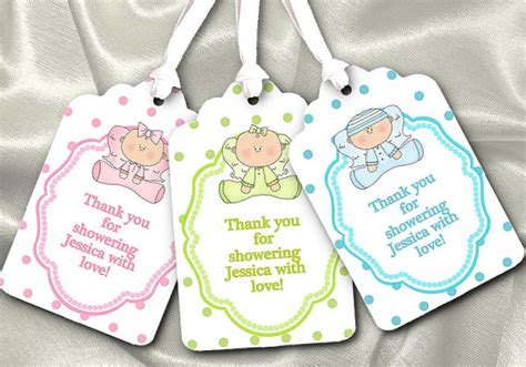 free baby shower favor tags templates unavailable listing on etsy