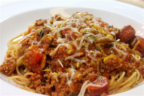 pasta recipes italian meat sauce and pasta recipe dishmaps
