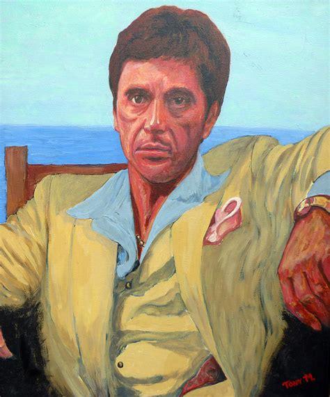 Tony Paintings by Scarface Tony Montana Painting By Tom Roderick