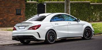 Mercedes Cla45 Price 2017 Mercedes Amg Cla45 Review Caradvice