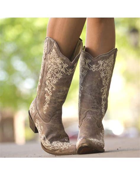 corral flower vintage boots
