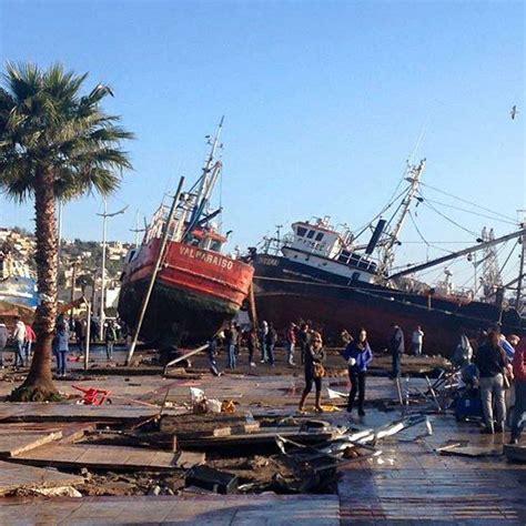earthquake chile tsunami and m8 3 earthquake destroy coquimbo chile