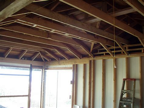 Rafter Ceiling by Raised Ceiling Joists Flickr Photo