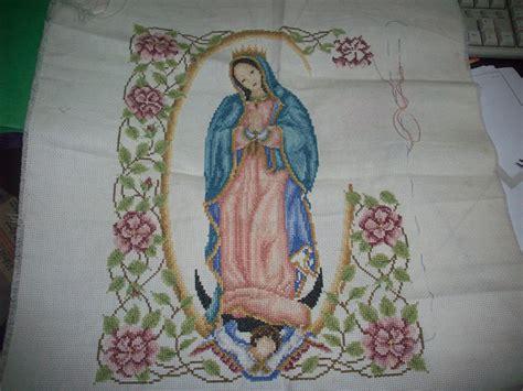 imagenes de la virgen maria para bordar nuevos avances de la virgen de guadalupe duende del bordado