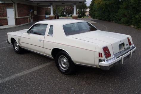 Where Is The Chrysler 300 Built by 1979 Chrysler 300 Original Survivor Only 3815 Built