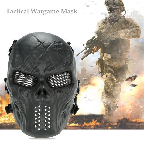 Ori Rompi Army Air Soft Tempur outdoor wargame tactical mask airsoft paintball cs army mask