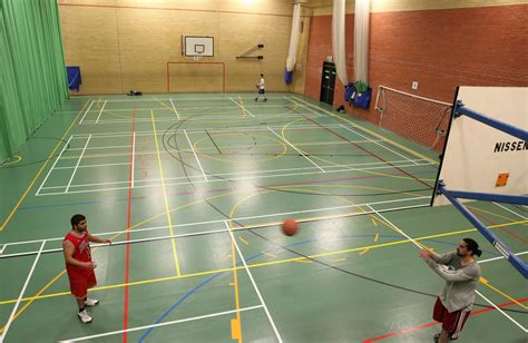 University of Essex Sports Hall   Basketball Sports Lines