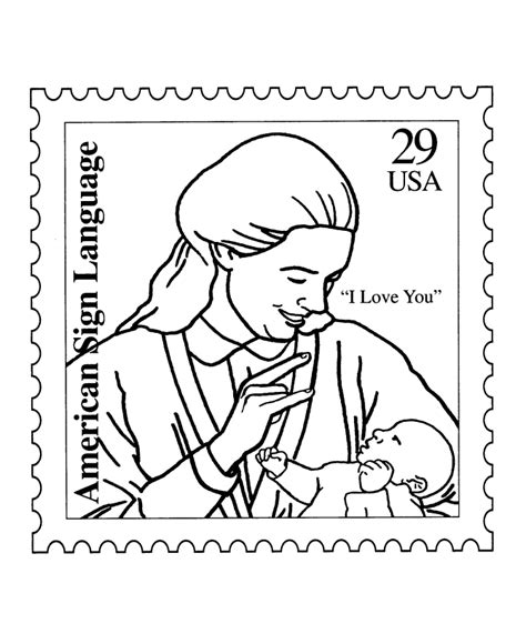 bluebonkers usps love st coloring pages american