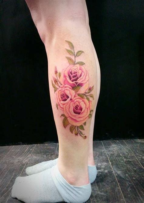 12 calf tattoo designs you won t miss pretty designs