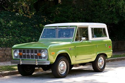 white bronco car green ford bronco with white roof cars pinterest