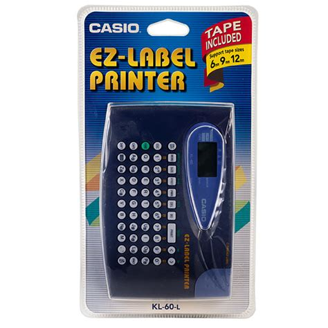 Casio Kl 60 Print Label casio kl 60 label printer rapid