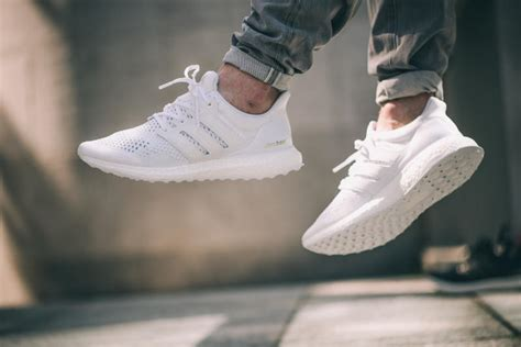 Adidas Ultraboost 20 Black White All White Olive Green Maroon adidas ultra boost collective white and