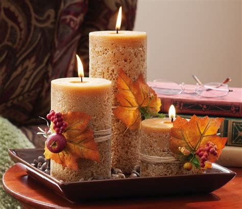 fall and autumn centerpieces decoration ideas