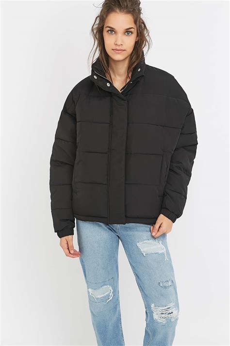 Light Before Cropped Puffer Jacket Puffer Jackets