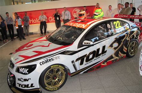 holden racing team gallery images from holden racing team s vf launch