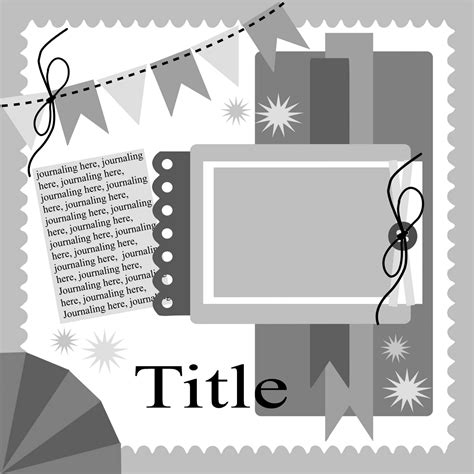 free scrapbook template 1000 images about my scrapbook layouts on