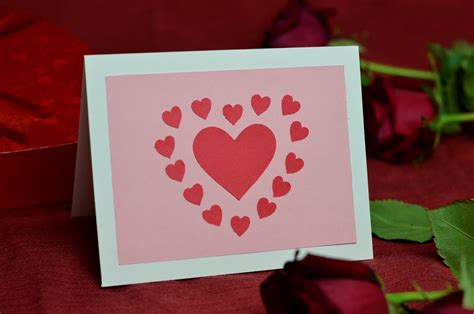 how to make a valentines day card ideas for s day cards with cut out hearts