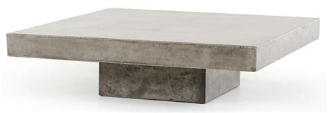 concrete top coffee table benciveni concrete top coffee table concrete square
