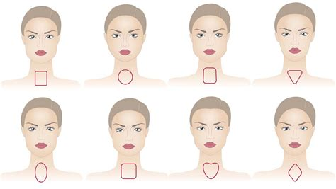 hair for diffrent head shapes find the perfect hair part for your face shape