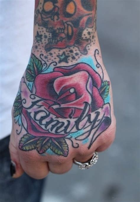 family rose tattoo 50 flower tattoos on
