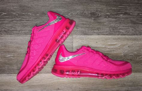nike airmax tosca list pink nike air max 2015 pink pow pink w swarovski crystals