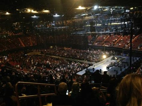 Section 8 Inglewood by Set Up For The U2 Concert Picture Of The Forum