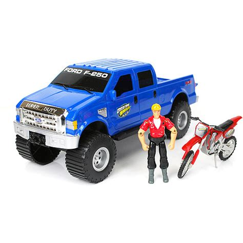 Adventure Wheels Truck Toys Adventure Wheels Deluxe Ford F 250 Vehicle Set