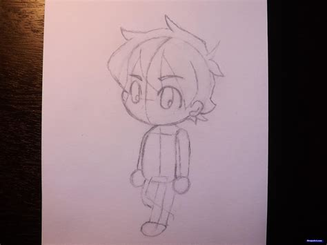 How To Draw A Chibi Boy Step By Step Chibis Draw Chibi How To Draw A Chibi Boy