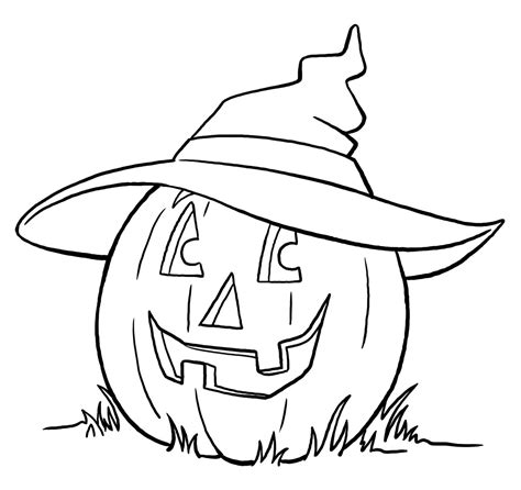 2014 Coloring Activity Printable Halloween Pumpkins Coloring Pages To Print Out