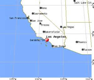 gardena california map gardena california ca 90247 profile population maps