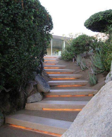 garten licht ideen licht garten treppen indirekt led stufen beleuchtung