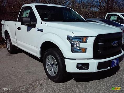 2016 white ford f150 2016 oxford white ford f150 xl regular cab 110729474