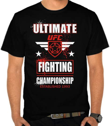 Diskon Kaos Ultimate Legend 21 Distro Seven jual kaos ufc ultimate fighting chionship bela diri satubaju