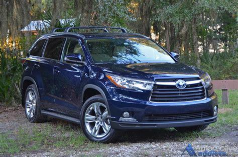 2015 Toyota Highlander Hybrid Review 2015 Toyota Highlander Hybrid Limited Awd I Review Test