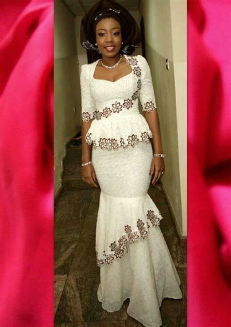 latest lace styles ankara lace dress styles mishono ya vitenge